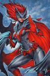 Batwoman   Commission by CottonyHotchkiss