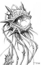 Fantasy eye | pencil by CottonyHotchkiss