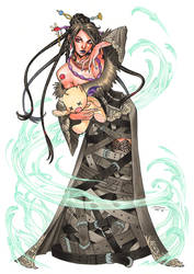 Lulu Final Fantasy by CottonyHotchkiss