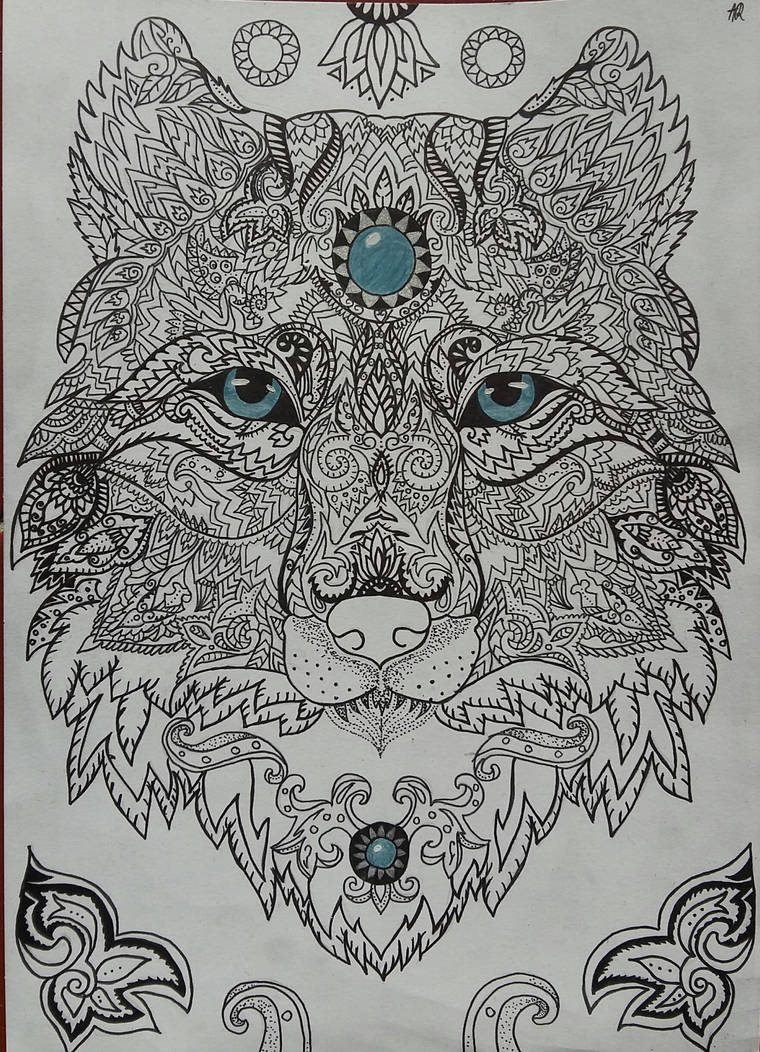 Wolf by AnaScarlet