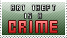 Art Theft Stamp by sammich