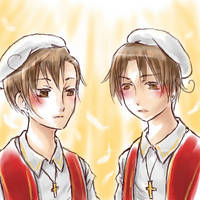 Two Italy Brothers by sammich