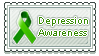Depression Awareness Stamp by sammich