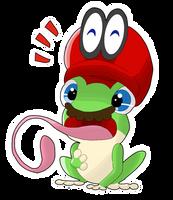 R-Ribbit!? -Super Mario Odyssey by TimerabiTimeTravel