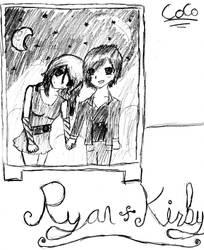 Kirby and Ryan by CocoPankakes
