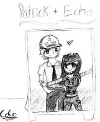 Echo and Patrick by CocoPankakes
