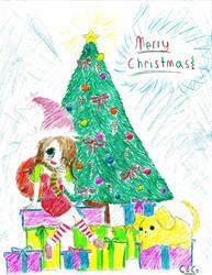 Hakari- Merry Christmas by CocoPankakes
