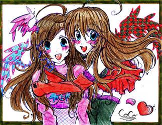 Twinny Love- Collab by CocoPankakes