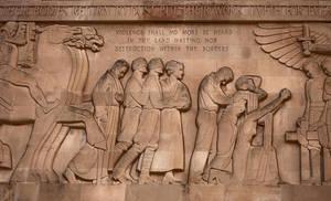 WWI Memorial Mural by SamSpade1941