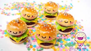 cute burger time by KPcharms