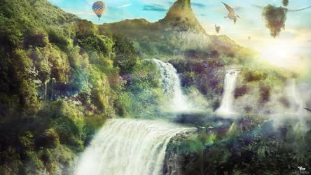 Fantasy-Land Wallpaper by ybarrapaul