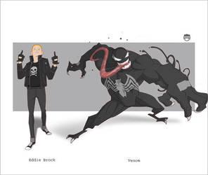 Eddie......Venom by CoranKizerStone