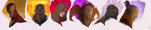 Some U know.....The Avengers by CoranKizerStone
