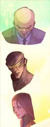 Some U know....X-Men by CoranKizerStone