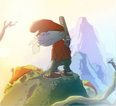 A Smurf's new Turf by CoranKizerStone