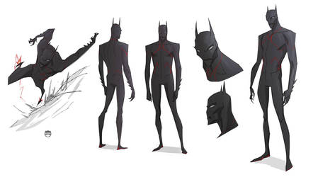 Batman Beyond by CoranKizerStone