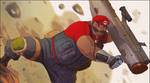 Militant Mario by CoranKizerStone
