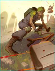 Lieutenant Luigi by CoranKizerStone