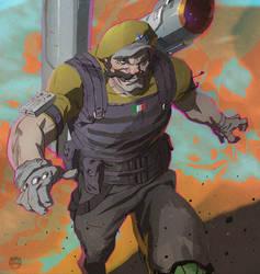 Warmongering Wario! by CoranKizerStone