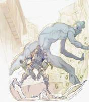 Attack on Titan: Bat Brigade by CoranKizerStone