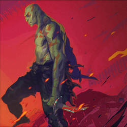 Drax the Destroyer by CoranKizerStone