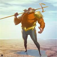 AquaMan by CoranKizerStone