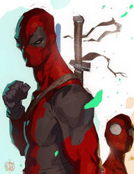 Deadpool Teach...Spidey...Learn by CoranKizerStone