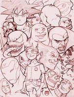 more u know....Sketchbook Prev by CoranKizerStone