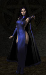 Raven without hood by shadowblade316