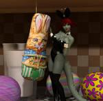 Easter Art Jam 2014: Lala by shadowblade316