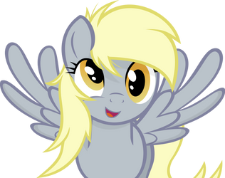 Derpy Hooves by Godoffury