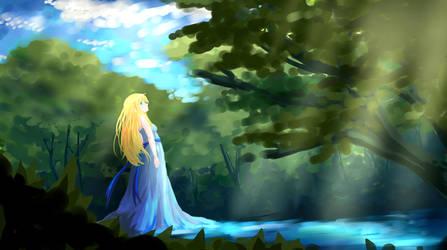 Water Fairy? by shelbybl