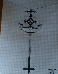 The anchor and the cross by LadyMark5