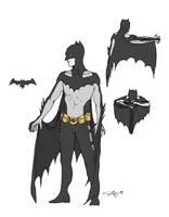 Batman 2.0 Re-Design by Janshi