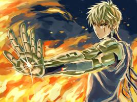 Genos the cyborg by ultimatesharingan7