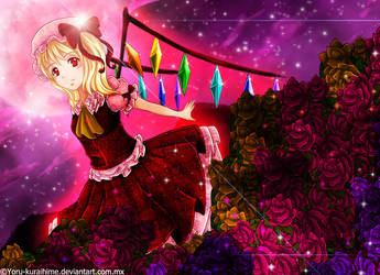 Flandre Scarlet by Yoru-Kuraihime