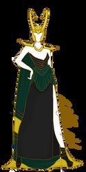 Loki Gown by ContntlBreakfst