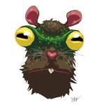 Frog Eyed Rat by croovman