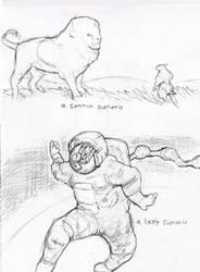 Rat-a-Sketch04: Rat Scenarios by croovman