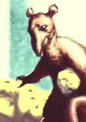 Rat-a-Sketch05: Gotcha! by croovman