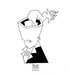 Inktober#32 - Ballad by croovman