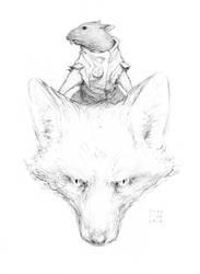 RATS! - Rat and Fox by croovman