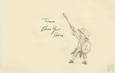 Trixters#11 - Blame Your Horse by croovman