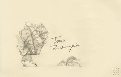 Trixters#5 - The Unmagician by croovman