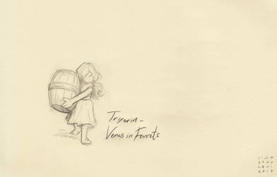 Trixters#1 - Venus in Ferrets by croovman