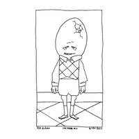 Inktober#11 - EggBoy by croovman