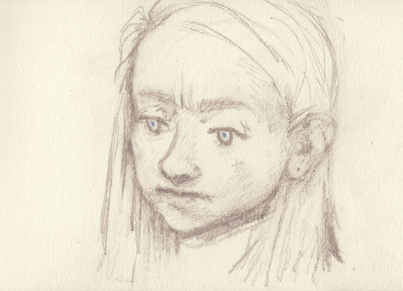 Concentrated Girl, from Memory by croovman