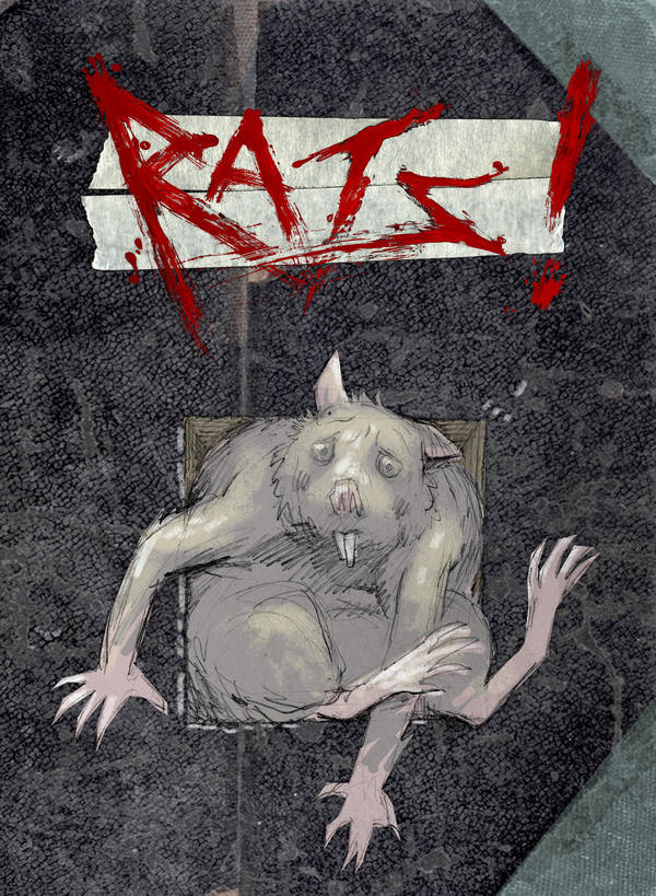 RATS cover sketch by croovman