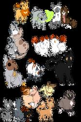 Dumb heap of doodles by AzureSylveon