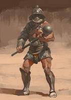 Gladiator by JUNLING